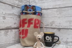 Coffe Day Small Duffle Bag